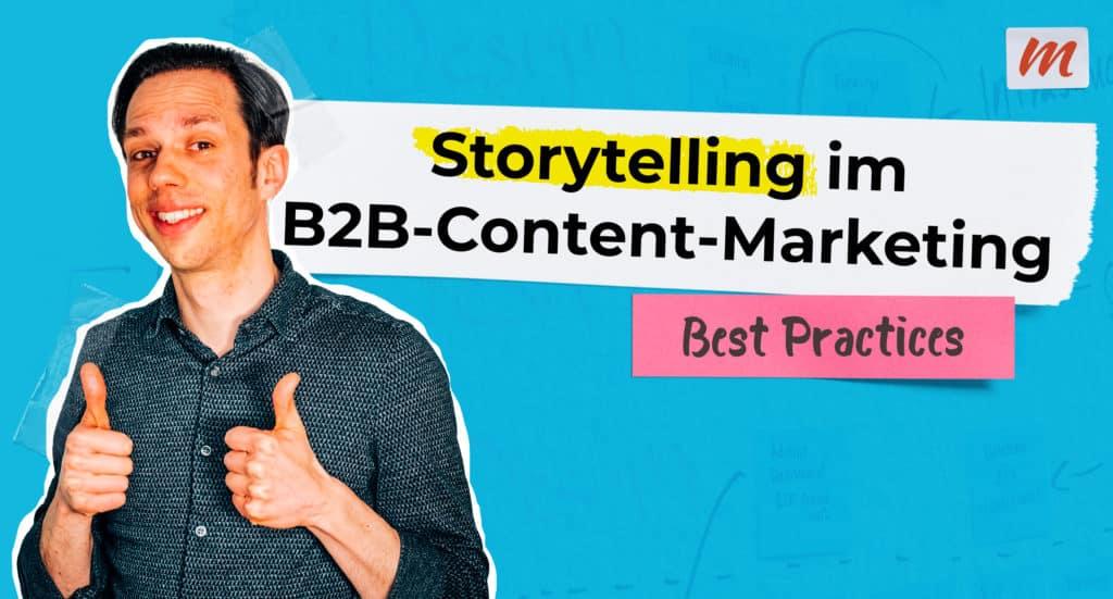 Storytelling B2B-Marketing